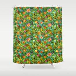 Pattern pony & friends Shower Curtain