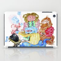 nintendo iPad Cases featuring Nintendo parta by OhSillyTurtle