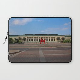Toledo Museum of Art with Alexander Calder 1973 'Stegosaurus' Laptop Sleeve