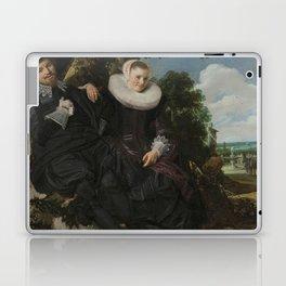 Portrait of  Isaac Abrahamsz Massa en Beatrix van der Laen - Frans Hals 1622 Laptop & iPad Skin