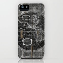 Treasure Map iPhone Case