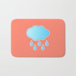 My Rainy Cloud Bath Mat