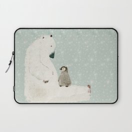 penguin and bear Laptop Sleeve