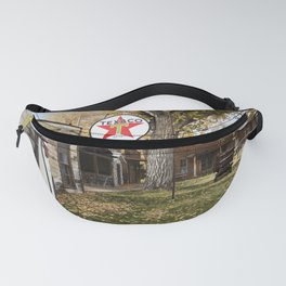Browns Town campground and historic site in Bishop California Fanny Pack