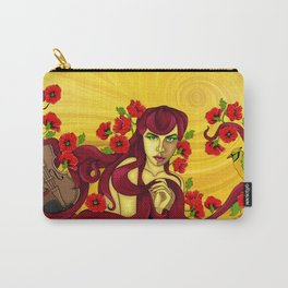 Violin Player Carry-All Pouch