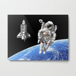 A heck of a big leap Metal Print