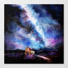 Tekapo Milky Way Canvas Print