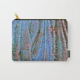 Caryatid in Blue Two Carry-All Pouch