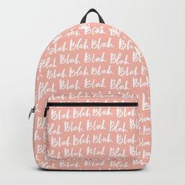Blah in Pink Backpack