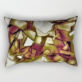 The obsolete shapes Rectangular Pillow