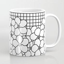 Forget Me Knot Grid Coffee Mug