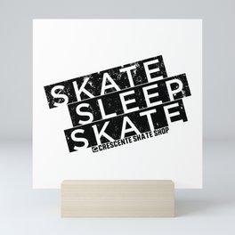 Skate Sleep Skate Mini Art Print
