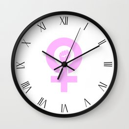 Women's Symbol-Resist Wall Clock