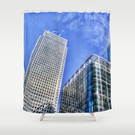 Corporate World London Shower Curtain