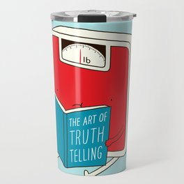 The art of Truth Telling Travel Mug