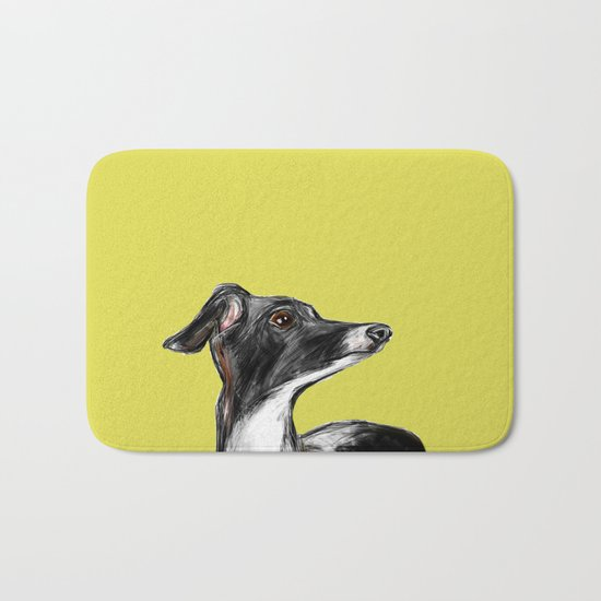 Greyhound Bath Mat