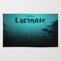 book cover Area & Throw Rugs featuring Lychgate Book Cover 2.0 by SireneEntertainment