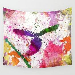 Owl Splash Wall Tapestry