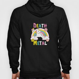 Death Metal Unicorn Hoody
