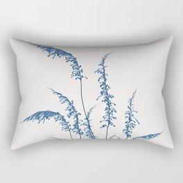 Blue flowers 2 Rectangular Pillow