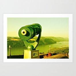 As Far As The Eye Can See Art Print