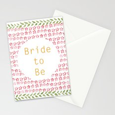 Bride to be! Stationery Cards