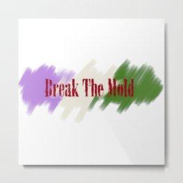 Break The Mold - Genderfluid Pride Metal Print