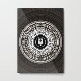 HustleHarder02 Metal Print