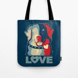 Golden Retriever - Love Tote Bag