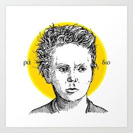 St. Marie Curie Art Print