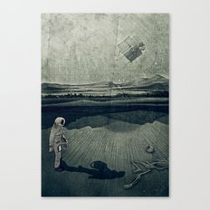 anatomy space I Canvas Print