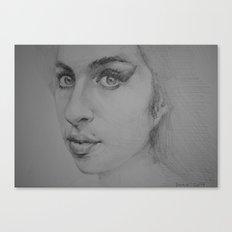 Amy Canvas Print