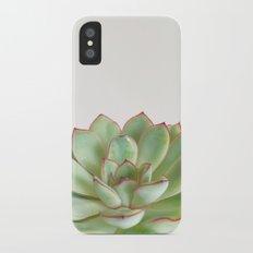Green Succulent Slim Case iPhone X