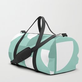 Pastel Green Slices in The Summer Shade Duffle Bag