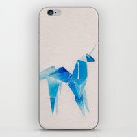 blade runner iPhone & iPod Skins featuring Blade Runner| Unicorn by Eazy Verdeacqua