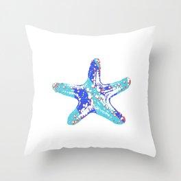 Nautic Star Throw Pillow