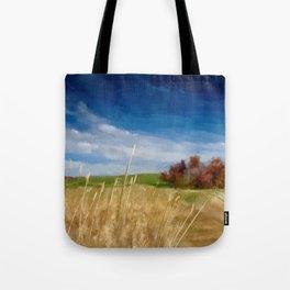 Along A  Country Lane Tote Bag