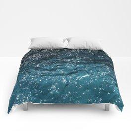 Texture #7 Water Comforters