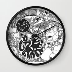 Circled circle Wall Clock