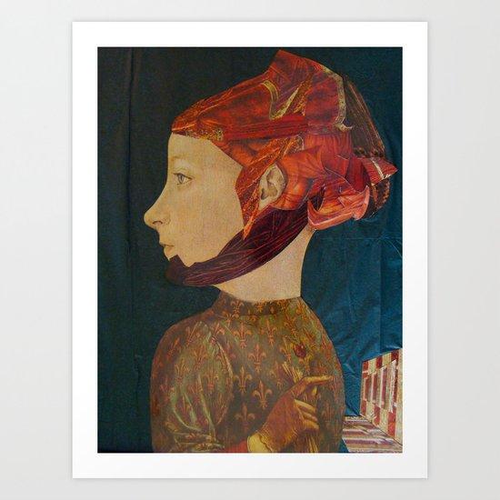 IL ROMANTICO SOMMERSO #5 Art Print
