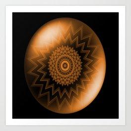 Sacral Orange   Chakra Art Print