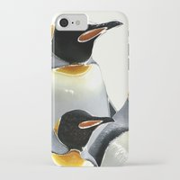 penguins iPhone & iPod Cases featuring Penguins by Regan's World