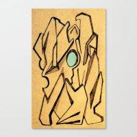 sketch Canvas Prints featuring Sketch by Jose Luis