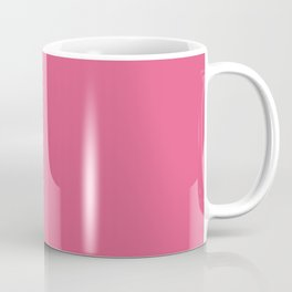 Pantone Hot Pink 17-1937 Solid Color Coffee Mug
