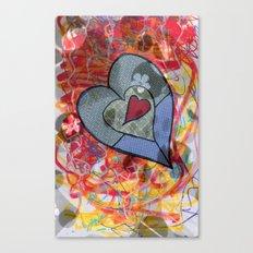 Crush Canvas Print