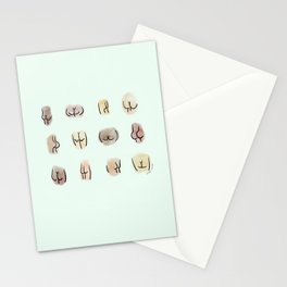 Minted Butts. Stationery Cards