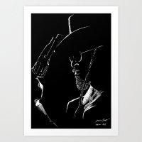 django Art Prints featuring Django by JessicaBader
