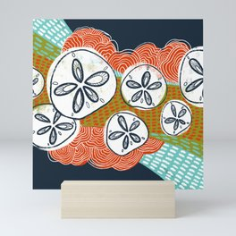 Sand Dollars Mini Art Print