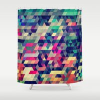 hunter Shower Curtains featuring Atym by Spires