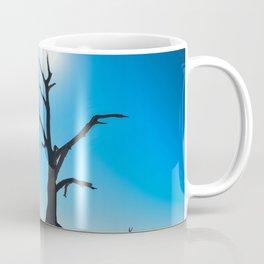 Silhouette Dead Tree Deadvlei Namibia Coffee Mug
